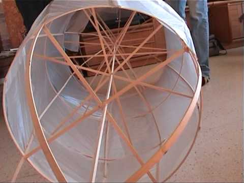 Construir Dirigible RC, Airship Building