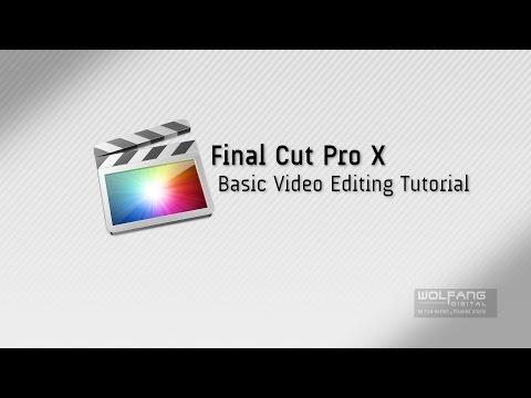 Free Final Cut Pro X Tutorial