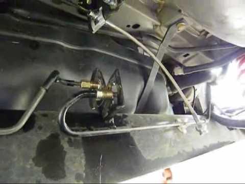 Week 18 Installing Rear Brake Lines To A Nissan Versa