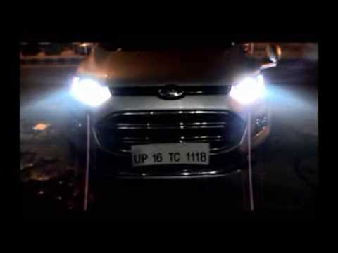 Audi Style Ecosport Projector HeadLight by autoglam.in, Car Accessories,INDIA