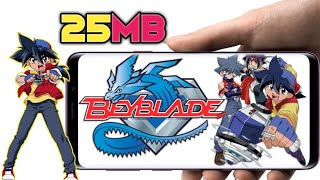 {25MB} Download Best Graphics Beyblade Game In Android    With Full Gameplay