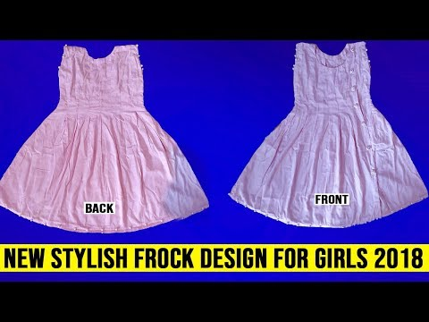 New Stylish Frock Design For Girls 2018 - Latest Fashion Trend | HandMade Design