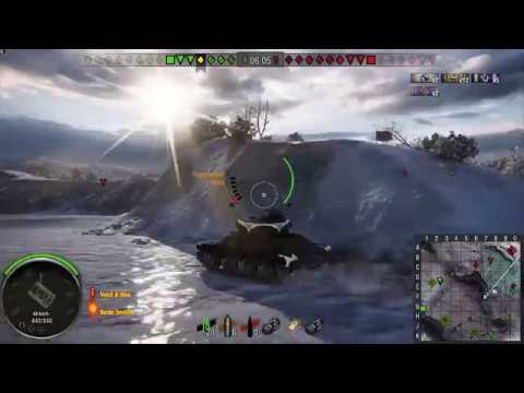World of Tanks T71 Lycan game play xbox one