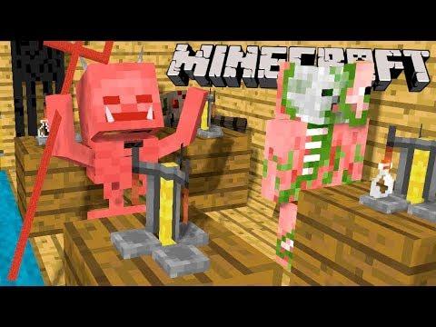 ТЁМНАЯ МАГИЯ и ЗЕЛЬЕВАРЕНИЕ!! (Minecraft PE Выживание #11)