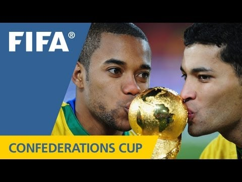 From Argentina's glory in 1992 to Brazil's stunning comeback in the final of 2009 - with great goals and dramatic moments at each event - relive the fantastic history of the FIFA Confederations...