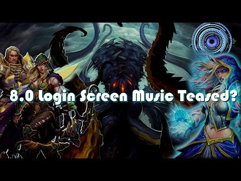 World of Warcraft - Blizzcon Teasing New Login Screen Music For Next Expansion?