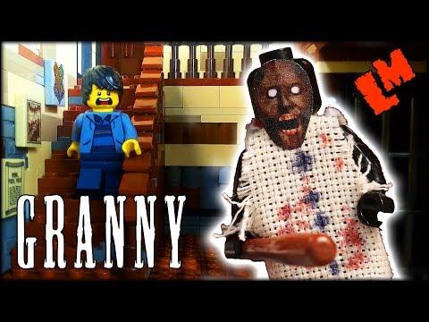 GRANNY  Lego horror stop motion animation