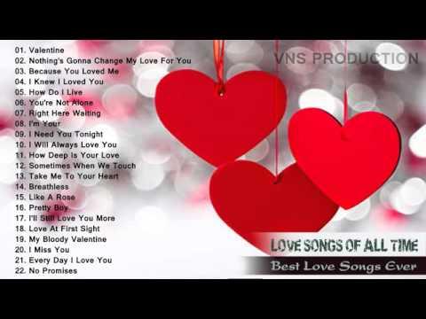 Hot Top 100 Romantic Love songs Playlist - Best Of Billboard March - February 2016