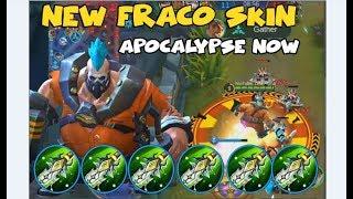 INSANE NEW FRANCO SKIN| STARLIGHT FRANCO APOCALYPSE (Mobile Legends)