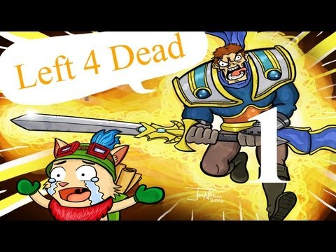 TroLOL: Left 4 Dead... Again [Part 1] [League of legends let's play] Music Videos