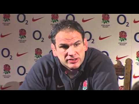 Martin Johnson Team Announcement vs Italy Six Nations 2011 - Martin Johnson Team Announcement vs Ita