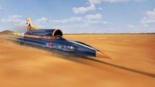 فيديو.. أسرع سيارة في العالم: مزيج من صاروخ الفضاء والطائرة النفاثة