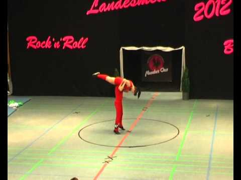 Lorena Pletz & Jan Kirchherr - Landesmeisterschaft NRW 2012