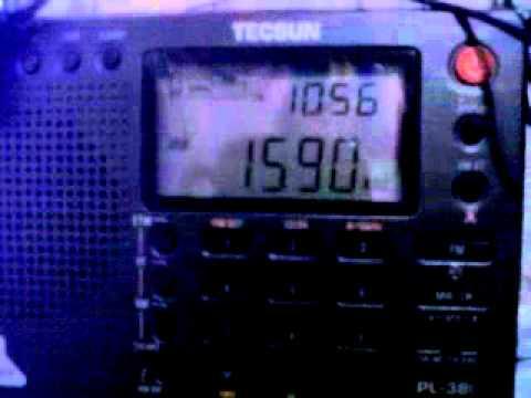 Radio Deportes 1590AM Caracas (Español) 1590 KHz 03:52 GMT 19-10-2011