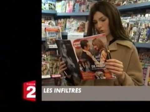 Carla Bruni imitée par Louise Bourgoin