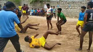 Ckm vs Thanjavur kabaddi match