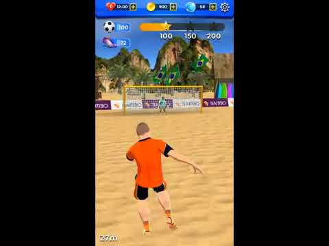Shoot 2 Goal Beach Soccer Game Android Gameplay Kick Football Games FHD