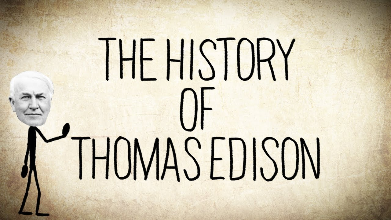 Pictures Of Thomas Edison As A Kid