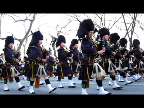 Bagpipers - NYC St. Patrick's Day Parade March 17th