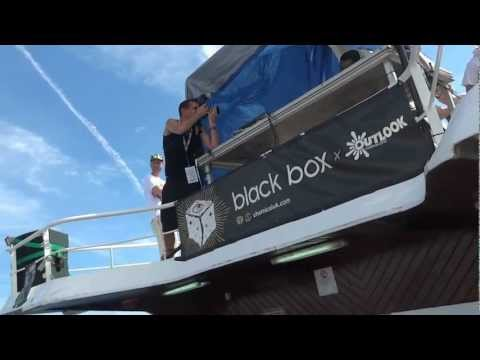 Kahn @ Black Box Boat Party, Outlook Festival 2012