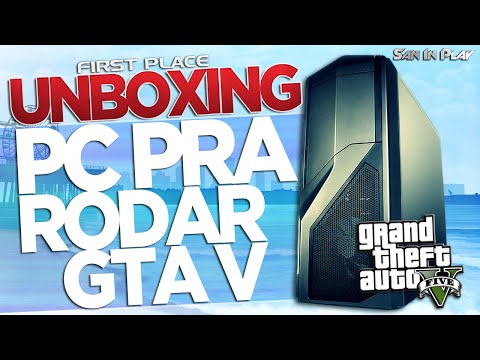 UNBOXING LENDÁRIO: PC Novo pra Rodar GTAV!