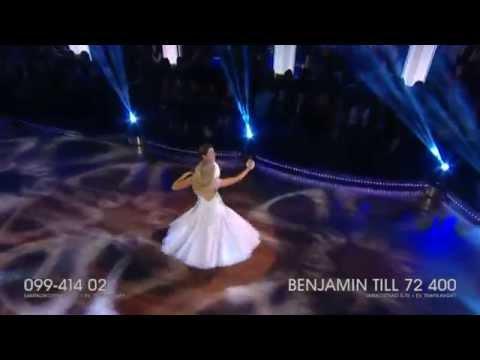 Benjamin Wahlgren och Sigrid Bernson -- vals - Let's Dance (TV4)