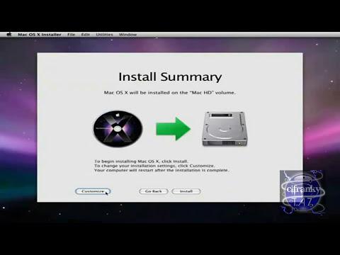 como descargar e Instalar Mac OS X Leopard x86 en una PC - Spanish