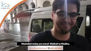 Happy Customer Reviews of Alharam Travel – Javaid Khan, and ,Usman Baig