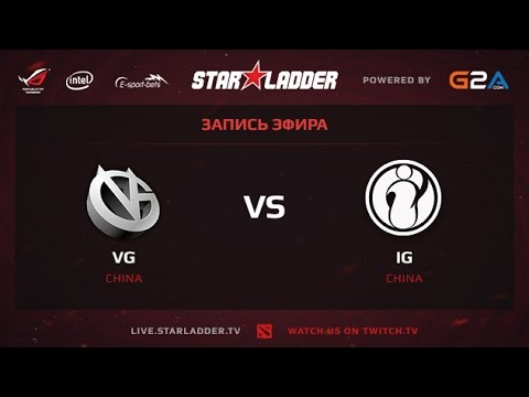 VG vs IG SLTV XII Grand Final Game 1