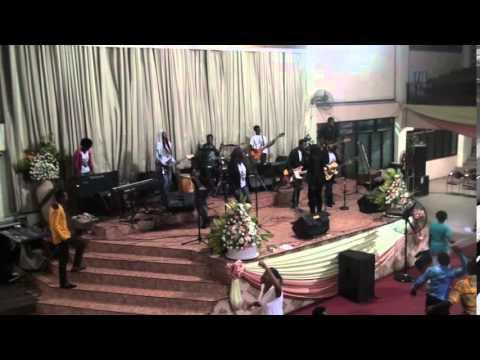 Baptizer Rocks @ Accra Poly Gospel Fest.
