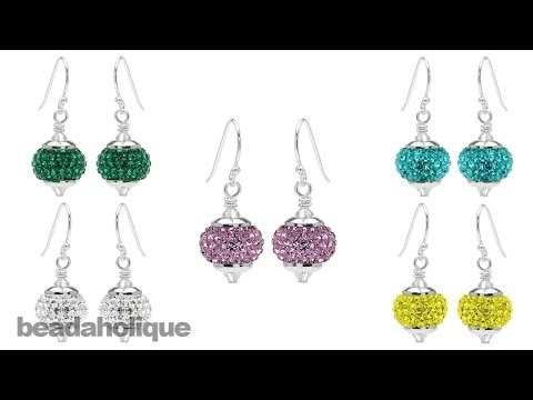 Instructions for the Pave Crystal Birthstone Earring Kit