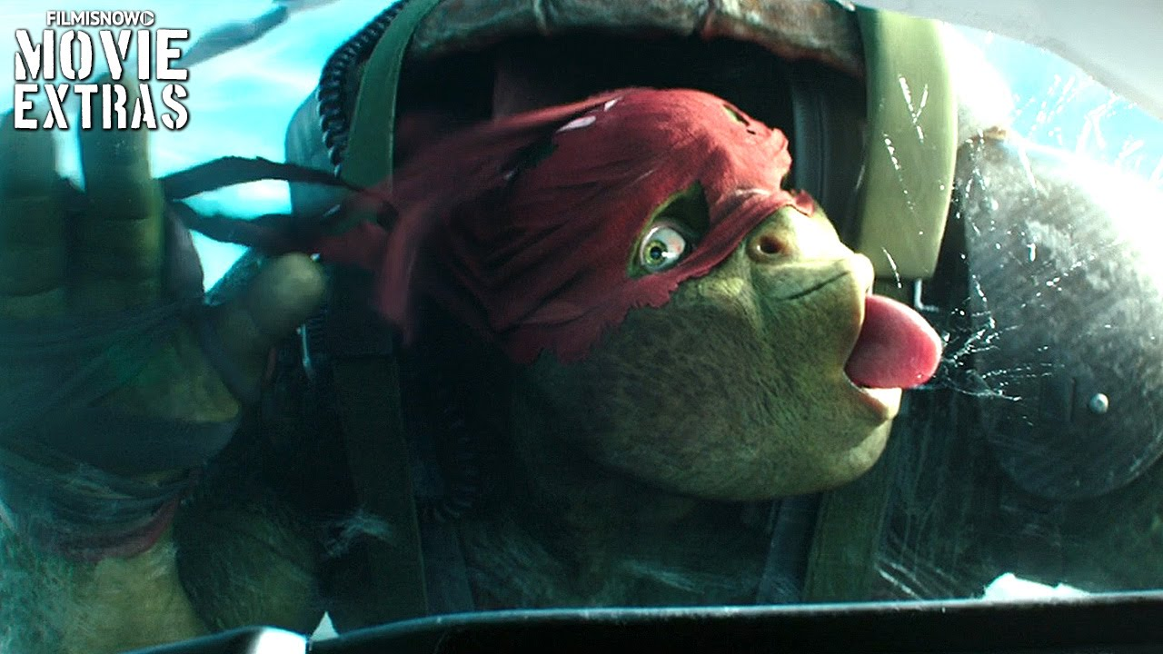 Teenage Mutant Ninja Turtles: Out of the Shadows Clip Compilation (2016)