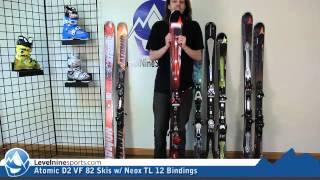 Atomic D2 VF 82 Skis w/ Neox TL 12 Bindings