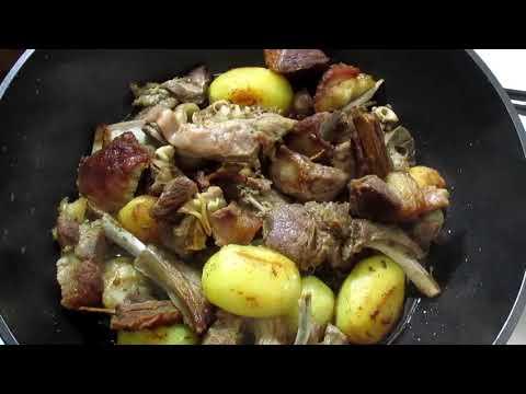 Баранина с картофелем Потрясающий рецепт Чазза