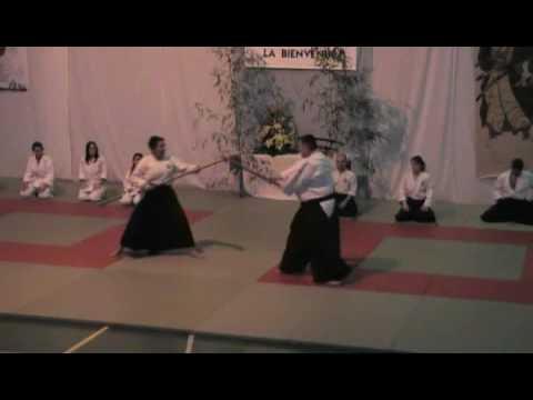 CMOM Aikido - 07.02.2009 - Gala des Arts Martiaux (Aikibudo) 2/11