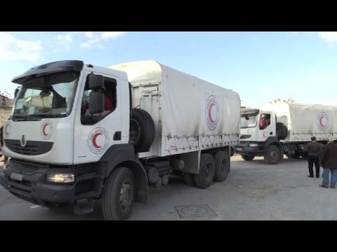 Rebel-held town east of Syria capital gets aid: UN