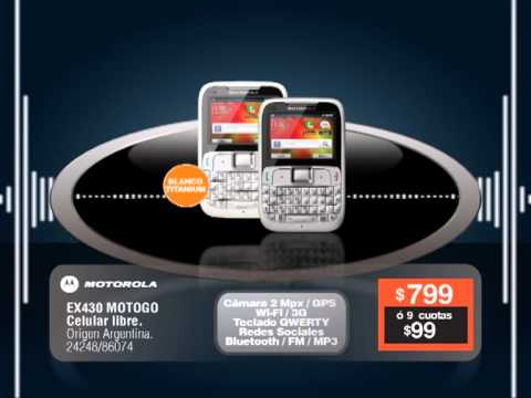 Motorola MOTOGO! Video clips