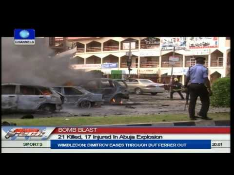 VIDEO: 21 Dead In Abuja Emab Plaza Explosion