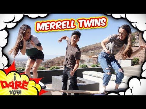 I Dare You: Body Shot!? (ft. Merrell Twins)
