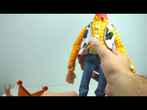 REVIEW DE TOY STORY COLLECTION WOODY EL COMISARIO EN ESPAÑOL