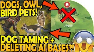 DOG in NEXT UPDATE - BIRD/OWL PETS TOO?!- DELETING AI BASES- Last Day On Earth Survival 1.7.7 Update