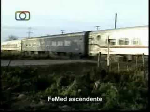 Los Rodr�guez - Tren local de FeMed llegando a Pilar