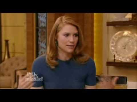 Claire Danes: interview Live with Kelly & Michael 2013.12.3