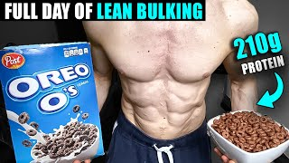 Full Day of Eating to Gain Weight *FAST* for skinny guys | High Protein Bodybuilding Bulking Diet