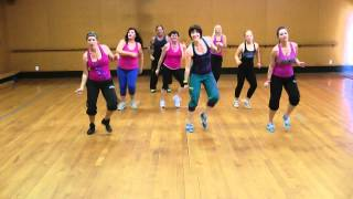 High energy fun Zumba routine to 'Runaway Baby' by Bruno Mars