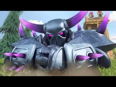 Clash Of Clans P E K K A Official Youtube