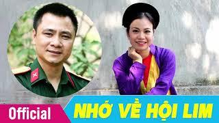 [Hát Chèo 2018] Nhớ Về Hội Lim - Lời: NT Hồng Hoa- NSND Tự Long ft. NSƯT Thùy Linh