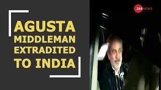 Agusta middleman extradited to India, CBI takes custody