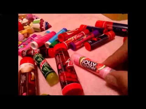 Colección de Lip Balm y Lip Smackers