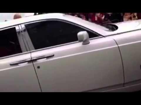 SRK car arrives at Feltham Cineworld